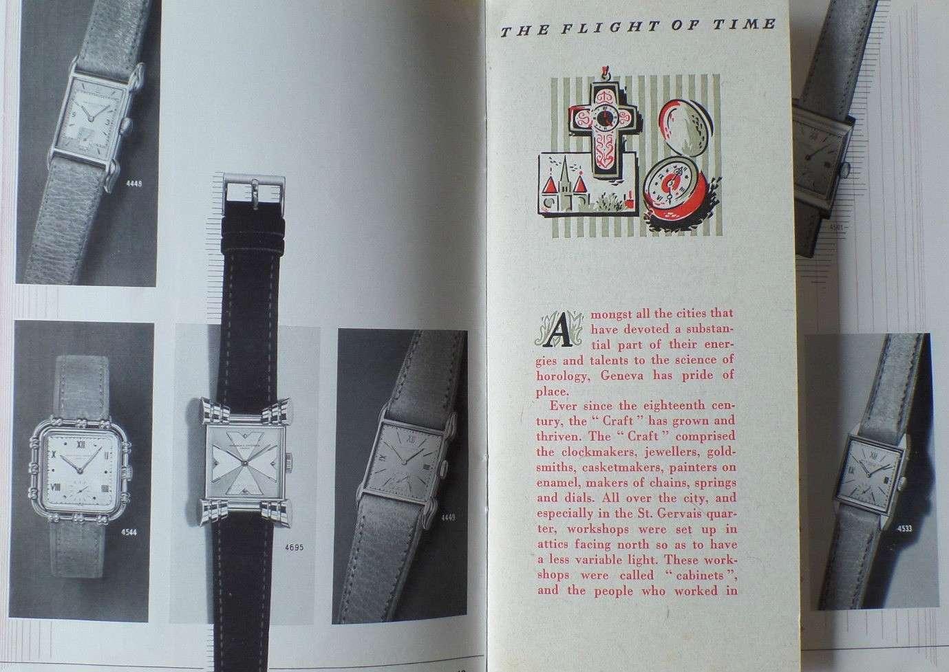 Vacheron Constantin: quelques références vintage 3 aiguilles Vacher11