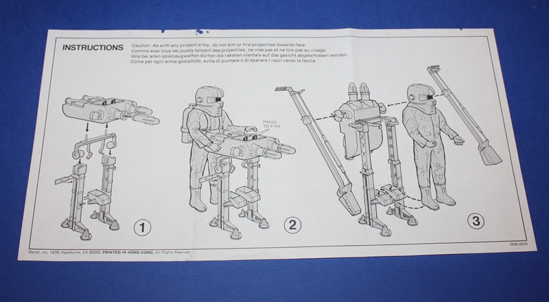 ROBOT SPAZIALE No. 2686 12r1010