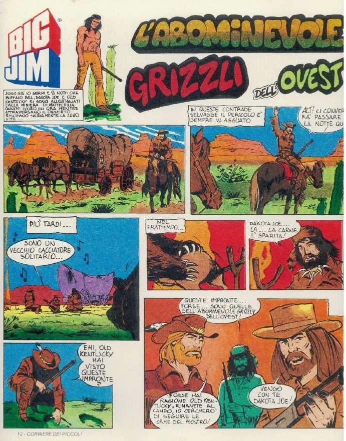 """FUMETTO : Serie Avventura """"L'Abominevole Grizzly dell'Ovest"""" Big_ji21"""