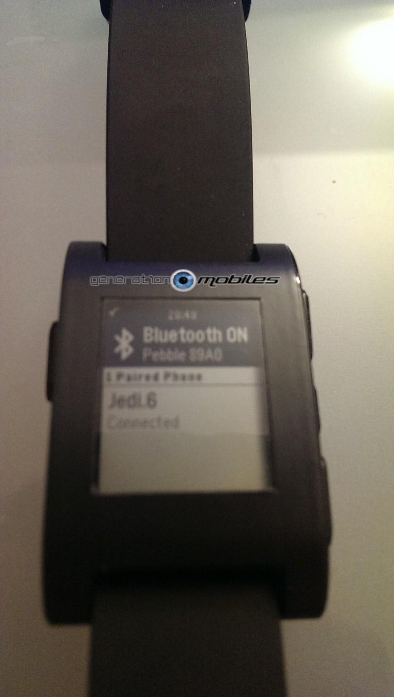 [TEST] Test de la montre Pebble Smartwatch Imag0312