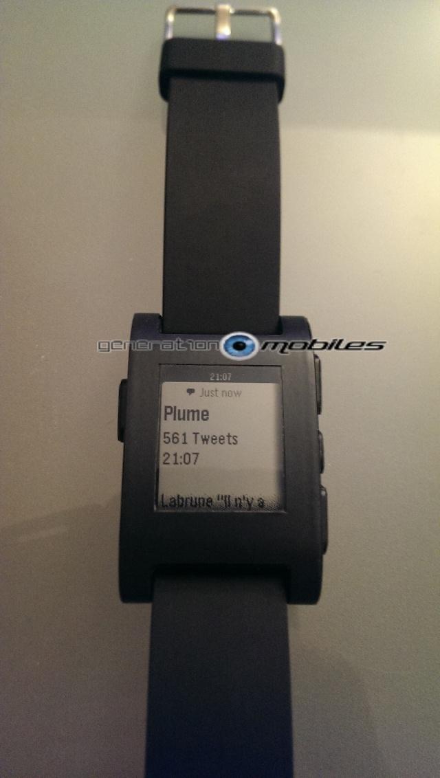 [TEST] Test de la montre Pebble Smartwatch Imag0315