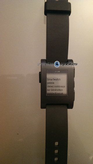 [TEST] Test de la montre Pebble Smartwatch Imag0317