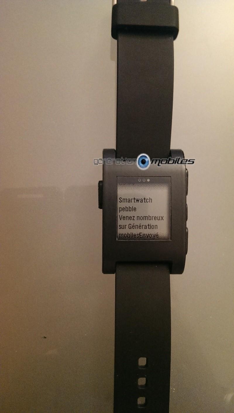 [TEST] Test de la montre Pebble Smartwatch Imag0318