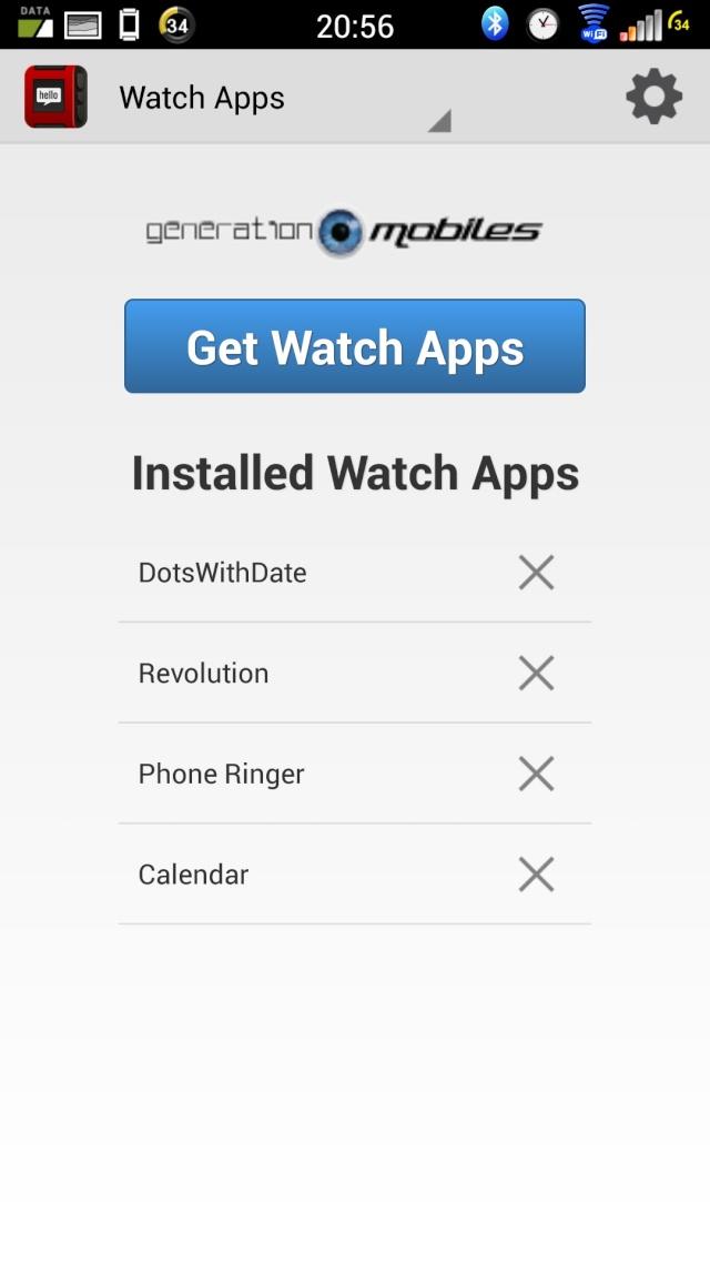 [TEST] Test de la montre Pebble Smartwatch Screen18