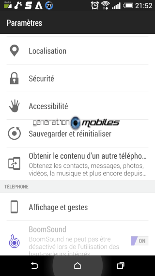 [TUTO] Faire une soft reset ou un hard reset sur le HTC One M8 Screen23