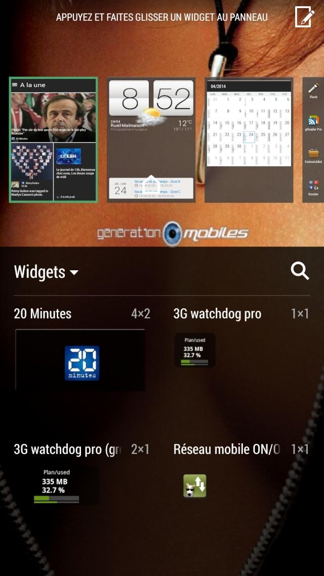 [TUTO] Afficher l'heure et la météo sur Blinkfeed sur le HTC ONE M8 Screen29