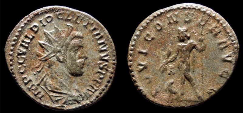 Aureliani de Lyon de Dioclétien et de ses corégents Diocle10