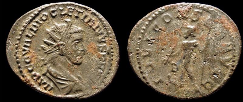 Aureliani de Lyon de Dioclétien et de ses corégents Diocle11