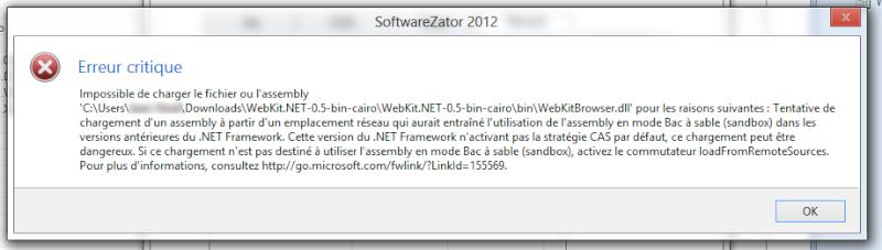 Utilisation du WebKit 2013-118
