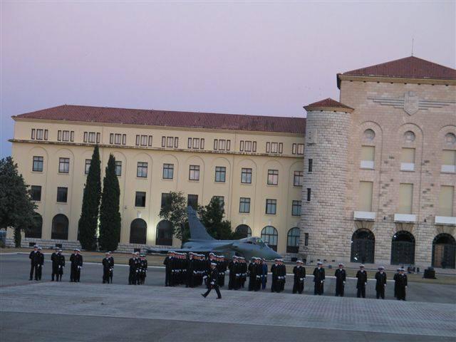 Baptème des Promotions 2012 de l'école de l'Air: Colonel Roland de la Poype  10698410
