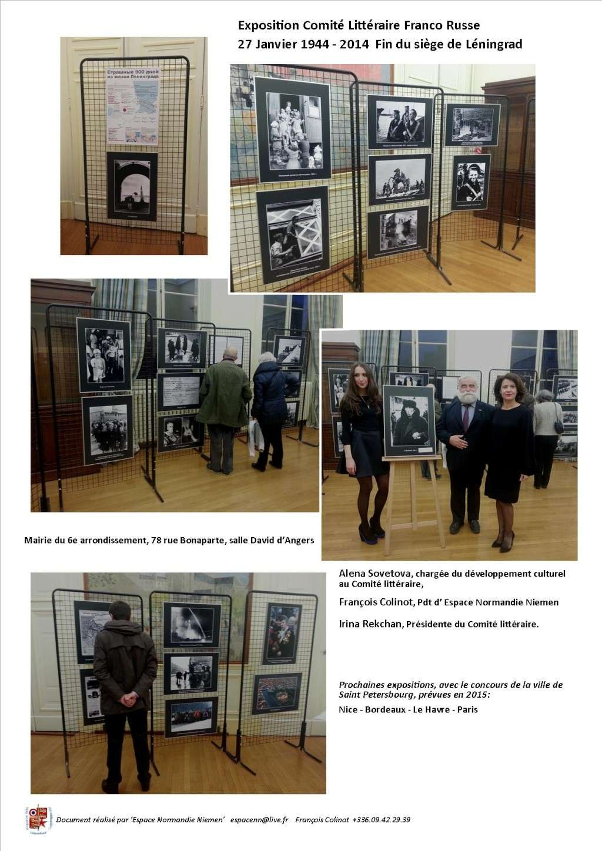 hommage au 70e anniversaire de la fin du blocus de Léningrad Expo_l11