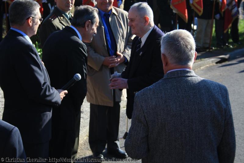 Cérémonies en commémorant le 70' anniversaire de la mort de Maurice BON Img_0110
