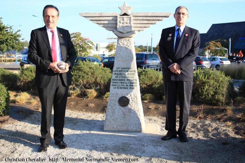 Cérémonies en commémorant le 70' anniversaire de la mort de Maurice BON Img_0118