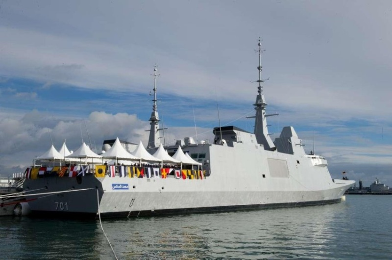 La fregate Mohamed 6, un autre fleuron rejoint la Marine Royale Mimoun26