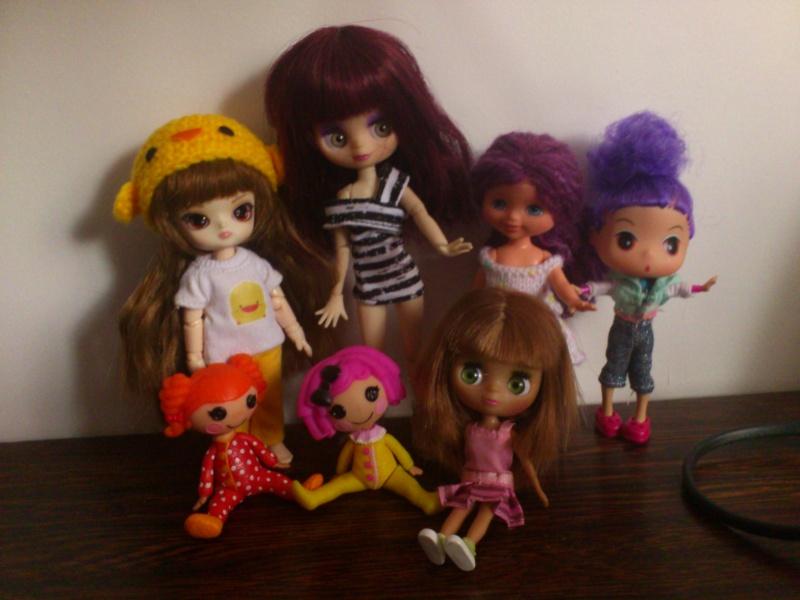 Ma petite famille éclectique...Adamanthine et les petites p2 Dsc_0019