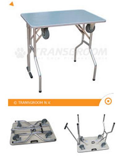table de toilettage à roulette Table10