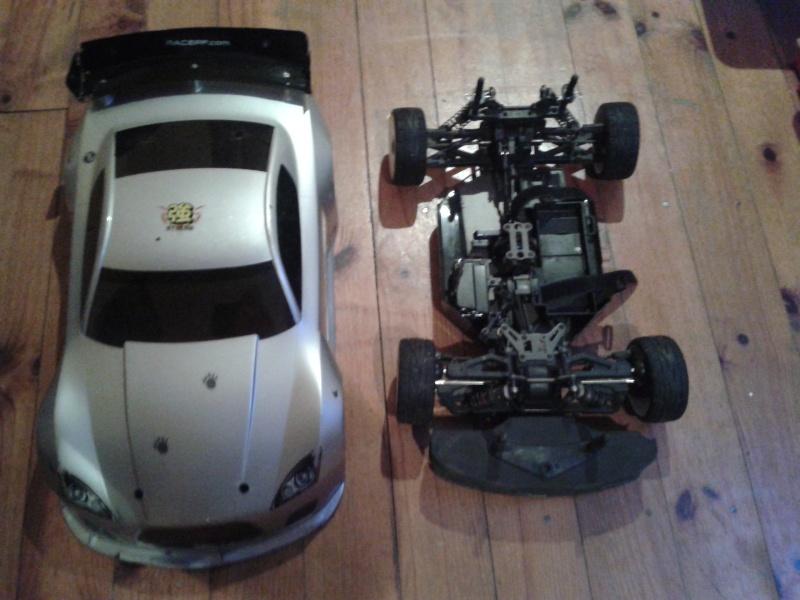 [ VENDU ]  OFNA GTP2e Chassis roller brushless 2014-019