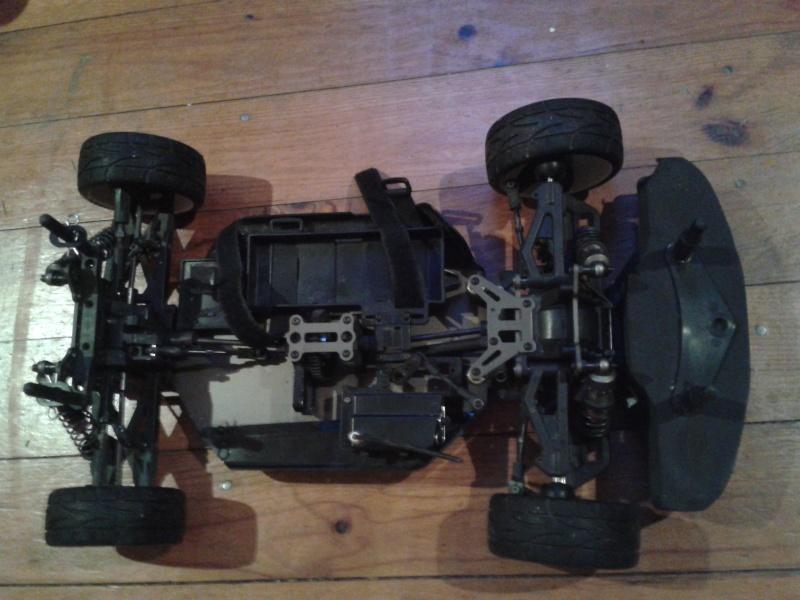 [ VENDU ]  OFNA GTP2e Chassis roller brushless 2014-020