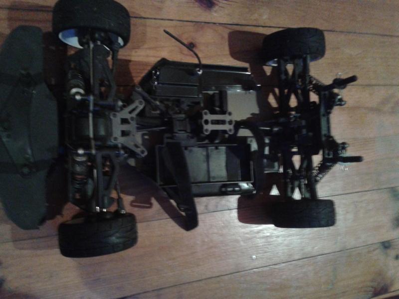 [ VENDU ]  OFNA GTP2e Chassis roller brushless 2014-021