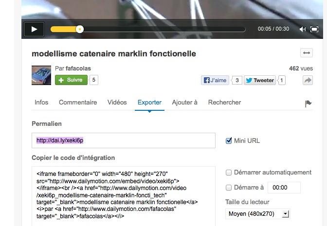 integration lien, video et image sur le forum Captur18