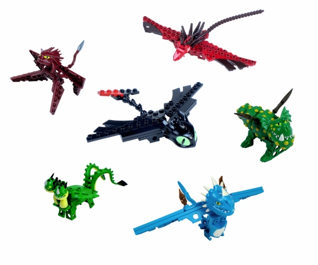 Produits dérivés Dragons 2 Ionix10