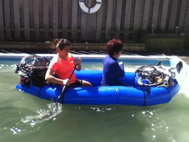 Vélo-Packraft [se balader avec un vélo-kayak]   Alpack10