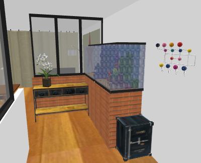 Aménagement Salon/Salle à manger Chamen10