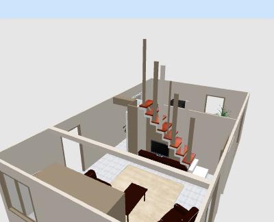 besoin d'idées pour un escalier trop visible - Page 2 Syrinx17