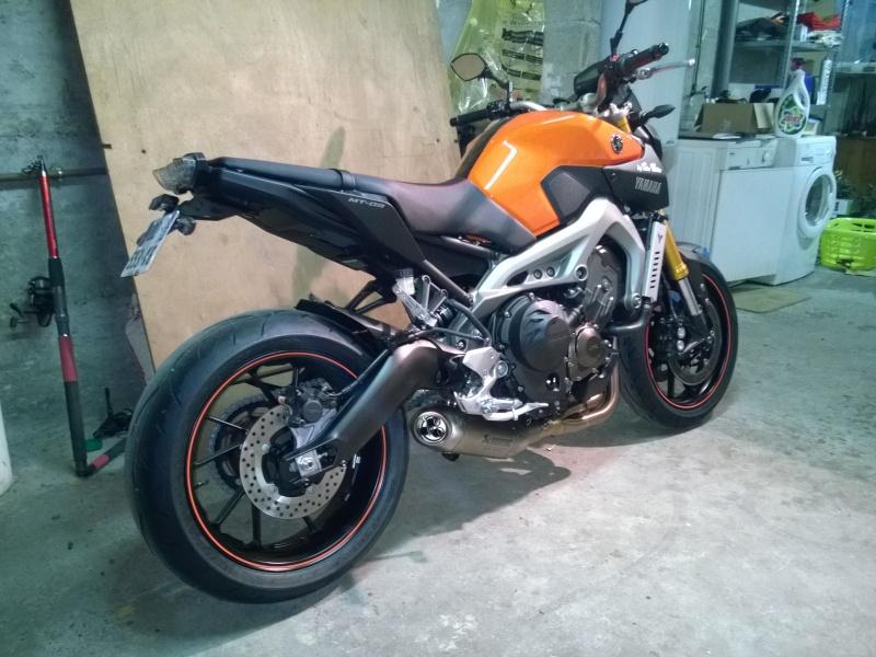 Ma orange Akra et selle SR. Wp_20118