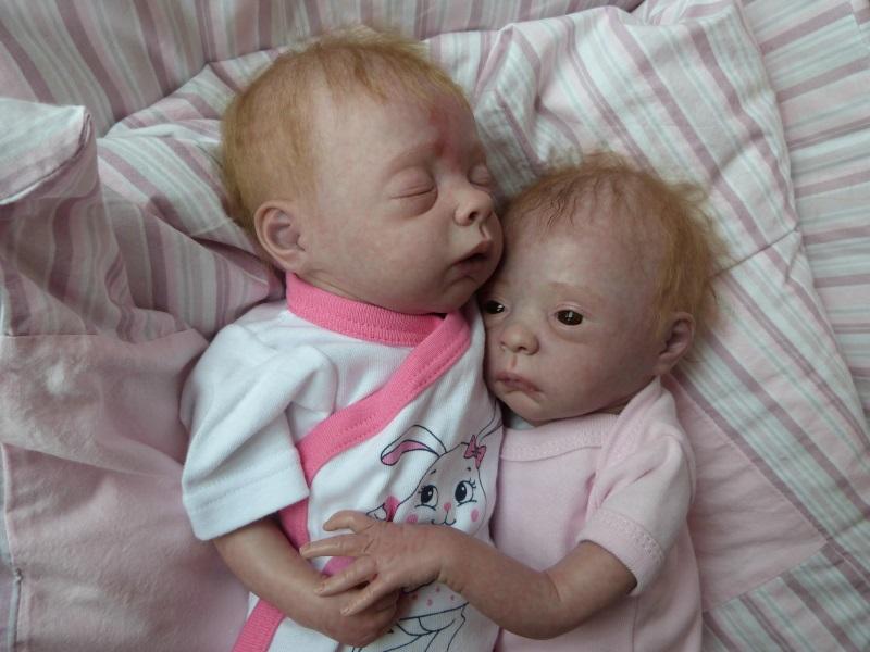 Julie und Mavie als Zwillinge (Evelina Wosnjuk) ADOPTIERT P1030822