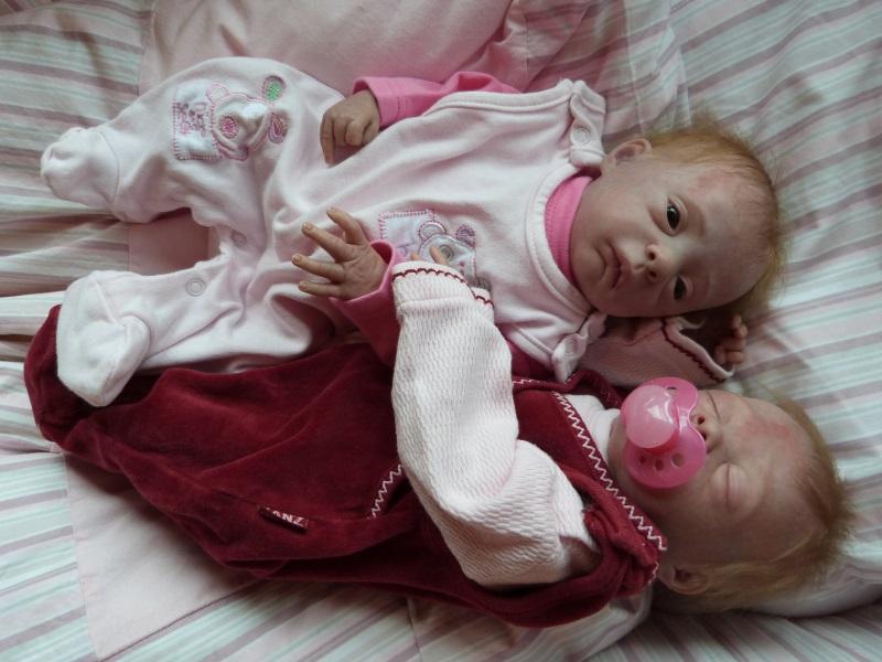 Julie und Mavie als Zwillinge (Evelina Wosnjuk) ADOPTIERT P1030823