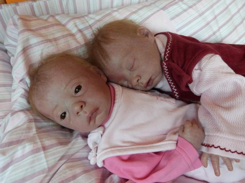 Julie und Mavie als Zwillinge (Evelina Wosnjuk) ADOPTIERT P1030825