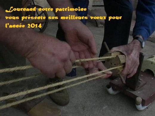 Vœux 2014 Lournand Notre Patrimoine Artisa10