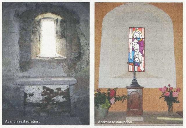 Une formidable préservation chapelle de FISSY  Lugny Chapel13