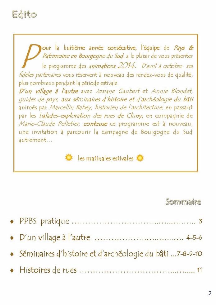 PPBS programme 2014 Edito_10