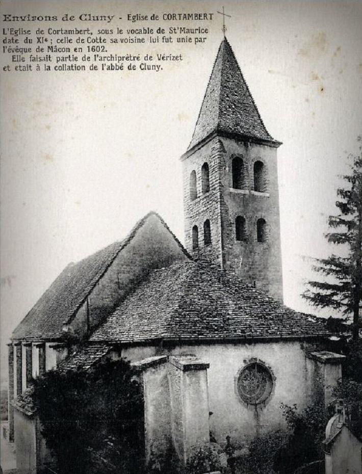 Cortambert Notre Patrimoine  Eglise11