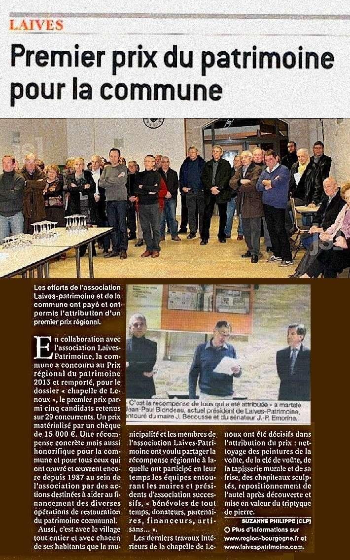 Prix du Patrimoine pour la commune de Laives  Laives16