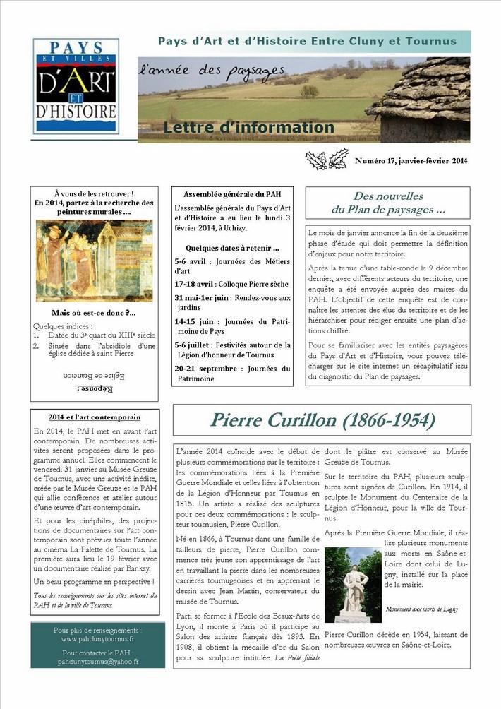 Newsletter du PAH N°17 Newsle10