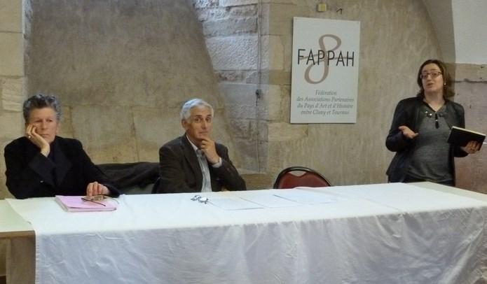 2014 La Fappah a tenu son assemblée générale vendredi 16 mai au palais de justice et exposition DES MÉTIERS UNE PASSION P1090314