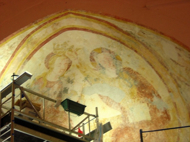 Présentation de la Chapelle sous Brancion, Culture et Patrimoine Peintu10