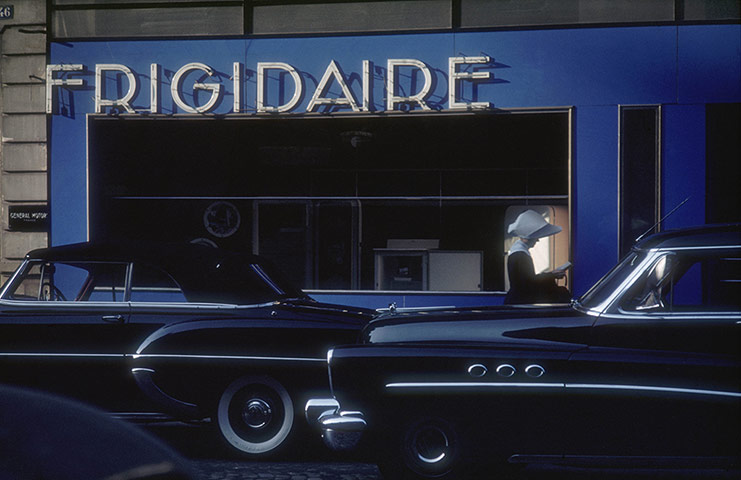 Rues fifties et sixties avec autos - 1950's & 1960's streets with cars Tumblr11