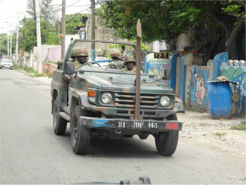 Force de défense de la Jamaïque / jamaica defence force (JDF) 1369