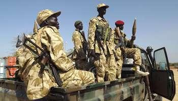 Armées du Sud Soudan 1372