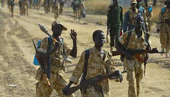 Armées du Sud Soudan 1545