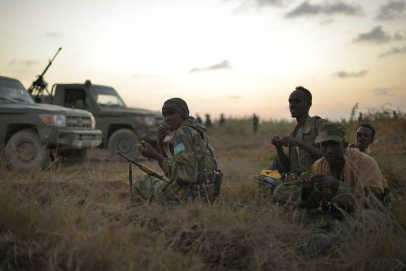 Armée Somalienne / Military of Somalia 1805