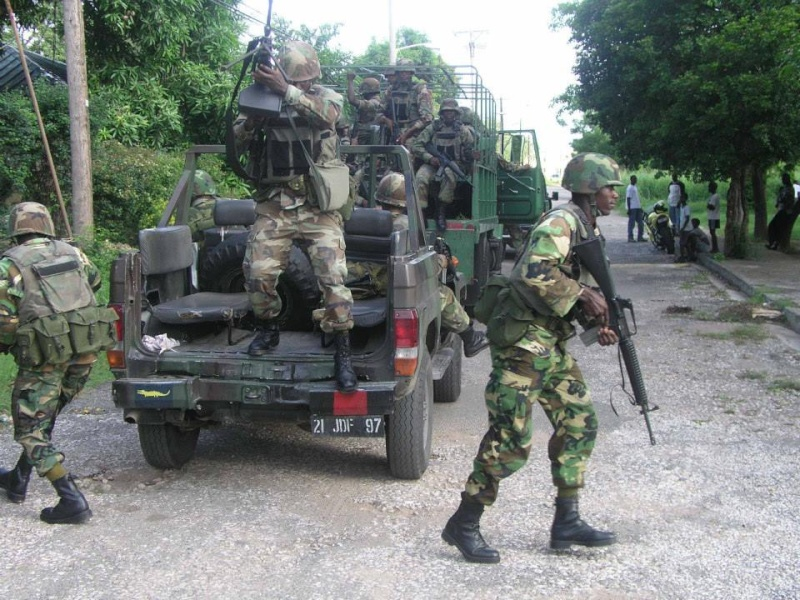 Force de défense de la Jamaïque / jamaica defence force (JDF) 2231
