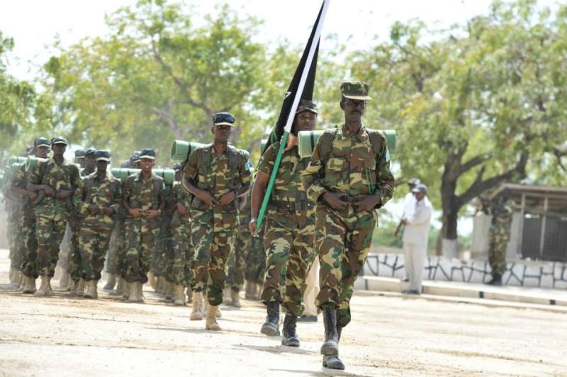 Armée Somalienne / Military of Somalia 2540