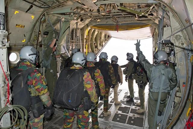 Coopération militaire Maroc-Belgique 3153