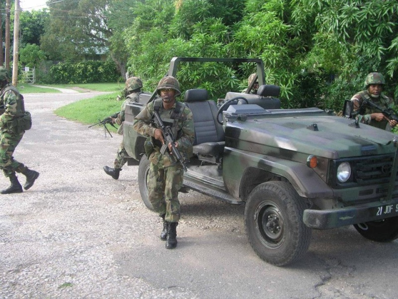 Force de défense de la Jamaïque / jamaica defence force (JDF) 3170