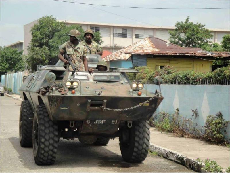 Force de défense de la Jamaïque / jamaica defence force (JDF) 4140